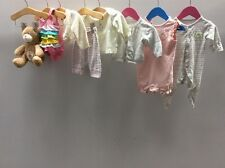 Baby Girls Clothing Bundle Age 0-3 Months Inc Mothercare Next  C1221