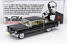 Cadillac Fleetwood serie 60 de la película The Godfather 1972 negro 1:18 greenli