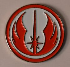 Star Wars Red and White Jedi Order Emblem Quality Enamel Pin Badge