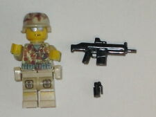 Lego Custom Minifig WW2 USMC MODERN WARFARE SOLDIER FULL GEAR