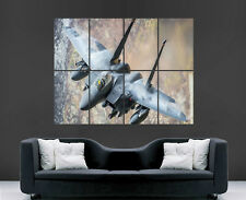 F15 FIGHTER JET POSTER AEROPLANE WAR SPEED AFTERBURNER HUGE LARGE WALL PICTURE