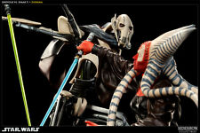 'Hunt for the Jedi' – Shaak Ti VS General Grievous Polystone Diorama by Sideshow