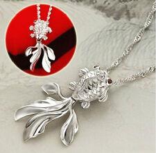 Collar Colgante de Plata Plateado Goldfish