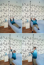 Boden-Decken Stange, Aufstehhilfe Bett,Transferhilfe, Klemmstange mit Griff