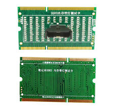 DDR3 memory slot tester card with LED for laptop motherboard Notebook parts new