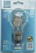 Müller-Licht 4W LED-Wendel Birne Retro-Design 40W Glühbirne Nachfolger 24614