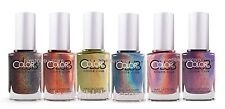 Color Club Halo Hues Holographic Nail Polish Lacquer 12 Pieces Full Collection
