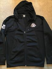 2014 STANFORD Vizio Rose Bowl Black Hoodie Thermal Jacket Sz L  By Expedition