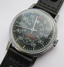 USSR. SOVIET wristwatch ZIM for pilots. Military Design. Air reconnaissance.