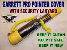 SECURITY COVER WITH LANYARD TO FIT THE GARRETT PRO POINTER METAL DETECTING YELLO