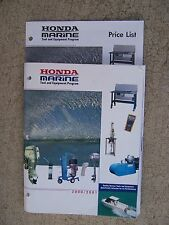 2000 2001 Honda Marine Tool Equipment Program Catalog Manual + Price List  U