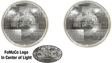 1965 66 67 1968 And 1970 Thru 1978 Ford Mustang Headlights Halogen Fomoco Logo