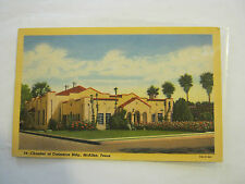 Chamber Of Commerce Bldg., McAllen, Texas 1940's Post Card (GS19-39)