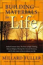 Building Materials for Life, Vol. 1 ( Fuller, Millard ) Used - VeryGood