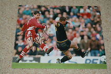 JAMIE REDKNAPP signed Autogramm  In Person 20x25 cm FC LIVERPOOL
