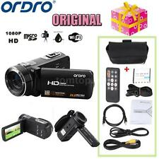 ORDRO HDV-Z8 1080P Digital Video Camera Camcorder 16×Zoom LCD Touch 24MP TM K2D9