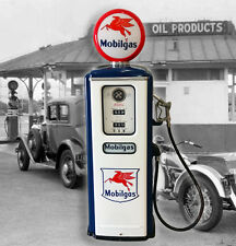 MOBIL GAS MODEL 39 TOKHEIM FULL SIZE GAS PUMP - RECREATION
