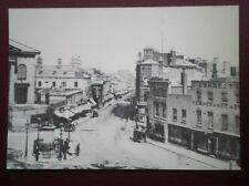 POSTCARD WARWICKSHIRE BIRMINGHAM C1875 NEW STREET FROM TOWN HALL
