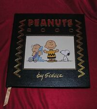 Peanuts 2000 By Charles M. Schulz Leather Bound Easton Press