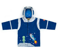 p5 My First Raincoat Kidorable Space Hero Navy Raincoat Size 12-18M