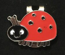 LADY BUG MAGNETIC HAT CLIP BALL MARKER NEW