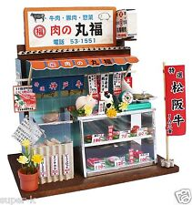 Doll House Handmade kit Japanese Retro Store [MeatShop] Billy Japan