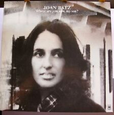 JOAN BAEZ LP-WHERE ARE YOU NOW, MY SON?/A&M CAT#SP4390. NM