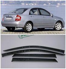 For Kia Cerato Sd 2004-2008 Window Side Visors Sun Rain Guard Vent Deflectors