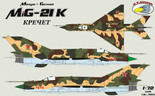 "RV Aircraft 1/72 Mikoyan MiG-21""Kretchet"" Fishbed Model Kit"