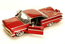 1959 Chevy Impala Red Jada Bigtime Kustoms 90632 1/24 scale Diecast Model Car