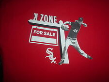 The CHICAGO White Sox CHRIS SALE #49 Pitcher K ZONE For Sale Rare SGA XL T SHIRT
