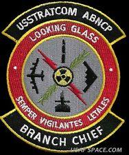 USSTRATCOM AIRBORNE COMMAND POST- LOOKING GLASS - BRANCH CHIEF - DOD USAF PATCH