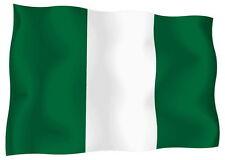 Adesivo Auto Sticker Tuning Moto Auto Stickers Bandiera Bandiera Nigeria