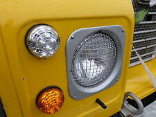 TOYOTA LAND CRUISER FJ 40 45 55 INOX headllight STONE Guardie Protettori x2