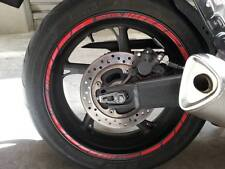 ADESIVI PER CERCHIONI MOTO wheels stickers lateral kit standart stripes Honda
