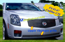 03-05 06 07 2006 2007 Cadillac CTS Billet Grille COMBO