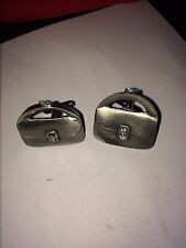 PURSE DR40 Pair of  Cufflinks Made From English Modern  Pewter