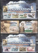 Tuvalu 909-912 History of Aviation Mint NH