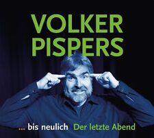 VOLKER PISPERS - ...BIS NEULICH - DER LETZTE ABEND 2CD NEU & OVP