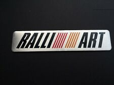 Mitsubishi RALLIART Emblem Car Modified Badge Decal Aluminum for Lancer EVO