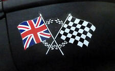 Triumph Daytona 600 675 T595 955I Speed Triple Union Jack Aufkleber Decal 2 St.