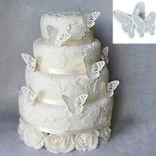 2Pcs DIY Fondant Butterfly Mold Cake Cutter Cookie Kitchen Accessories