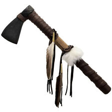 Plains BUCKSKIN Warrior TOMAHAWK