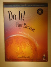 """Do It!"" Play Bassoon Instructional Book + CD Vol 2 NEW James O Froseth"