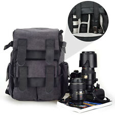 CADEN M5 Travel Double Shoulder DSLR SLR Camera Bag Laptop Backpack For Canon