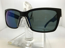 VON ZIPPER ELMORE PLC SATIN BLACK/WILD BLUE FLASH POLARIZED LENS