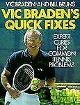 Vic Braden's Quick Fixes: Expert Cures for Common Tennis Problems-ExLibrary