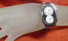 PHILIP STEIN TESLAR  DUEL TIMEZONE LADIES WATCH SIZE 1