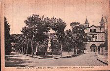 CARTOLINA DI ARMA DI TAGGIA - MONUMENTO AI CADUTI E PARROCCHIALE 1932 C6-306