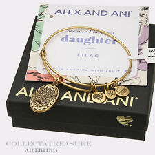 Authentic Alex and Ani Daughter(ii) Rafaelian Gold Charm Bangle